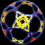 Costruzione con il polydron di un poliedro che in realtà non esiste così come appare