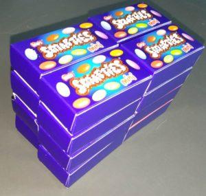 Problema di matematica - La fabbrica di saponette - Scatolette 2x2x4