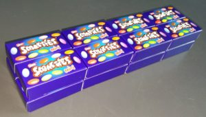 Problema di matematica - La fabbrica di saponette - Scatolette 4x2x2