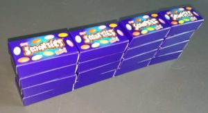 Problema di matematica - La fabbrica di saponette - Scatolette 4x1x4