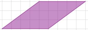 Un rombo disegnato con le diagonali non parallele alle linee della quadrettatura è pur sempre un rombo - Problema di geometria - Uguali o diversi?