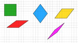 Tutti i robi che si possono disegnare su carta quadrettata, aventi i vertici negli incroci della quadrettatura e i lati di 5 quadretti