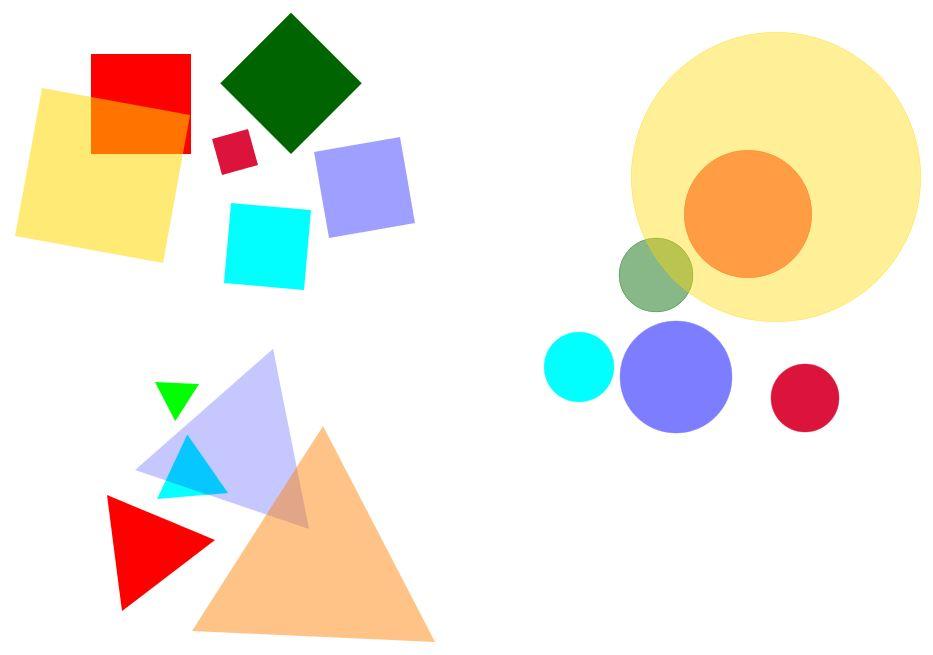 """""""Cerchio"""", """"quadrato"""" e """"triangolo equilatero"""" sono parole che denotano davvero delle forme, perché tutti i cerchi sono simili tra loro, tutti i quadrati sono simili tra loro e tutti i triangoli equilateri sono simili tra loro."""
