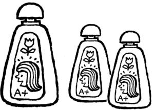 Il flacone più grande è alto 24 cm, quello più piccolo 18 cm; i flaconi sono del tutto simili. Il contenuto di due flaconi piccoli può essere travasato in quello grande?