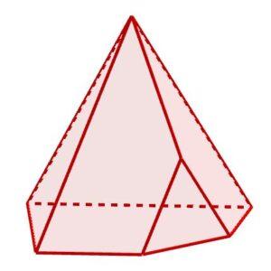 Esempio di un poliedro con 11 spigoli